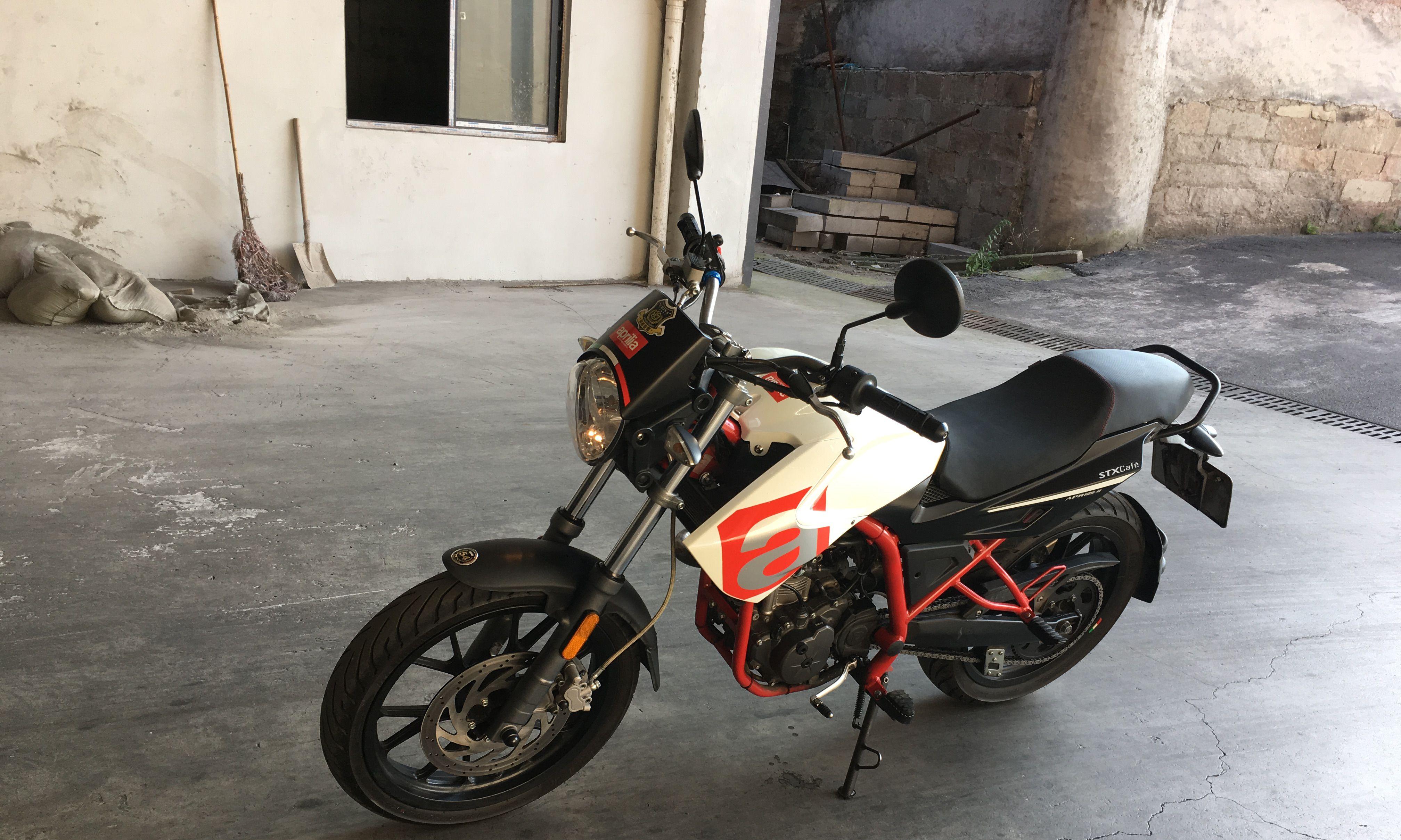 重庆渝北阿普利亚|阿普利亚stx cafe125|150cc以下【骑者联盟二手摩