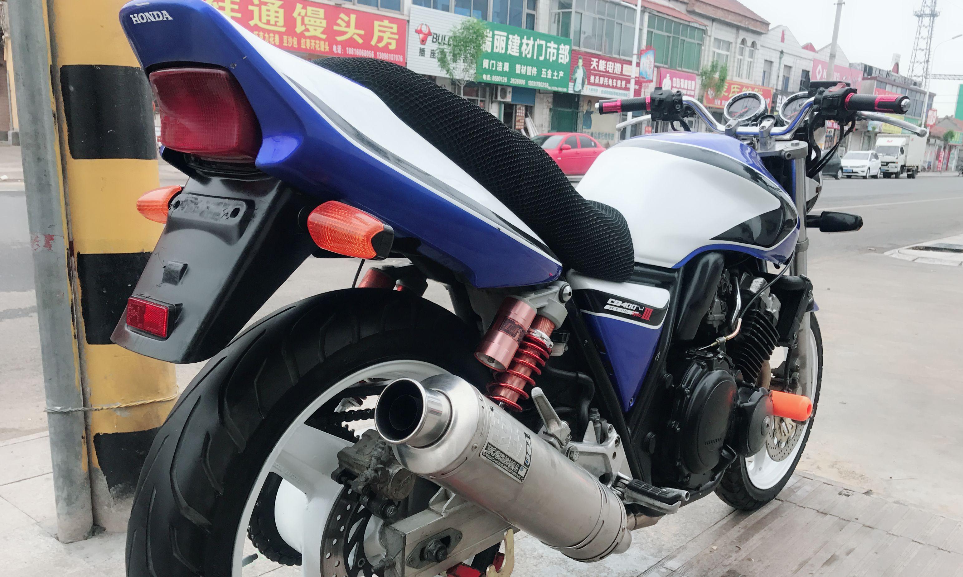 街跑摩托车cb400_山东桓台本田|本田本田CB400|400cc【骑者联盟二手摩托】
